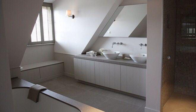 Pastoriestijl badkamer mozaïek tegels