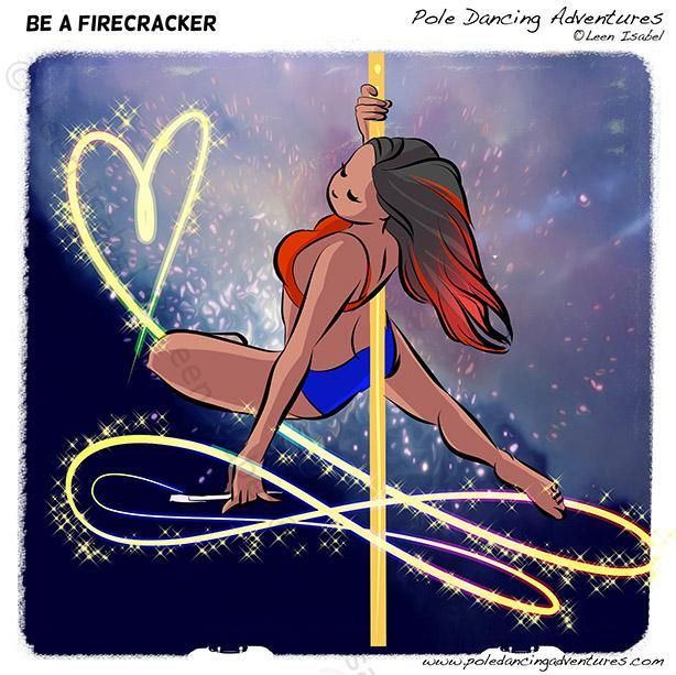 The original webcomic about Pole Dancing! Pole dancing is a fun fitness sport and art form. Come read about hilarious moments, fitness tips, product reviews and more!