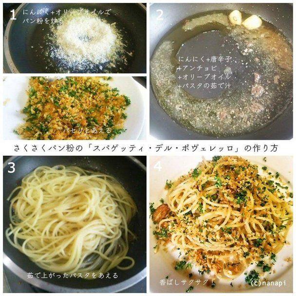 【nanapi】 以前に卵だけを使った「貧乏人のパスタ」というパスタの作り方をご紹介させていただきました。超シンプルな卵だけのパスタ!「スパゲッティ・デル・ポヴェレッロ」の作り方イタリアのレシピサイトを見ていると、シチリア地方に以前ご紹介させていただいたものとは別の「貧乏人のパスタ」と呼ばれるパス...