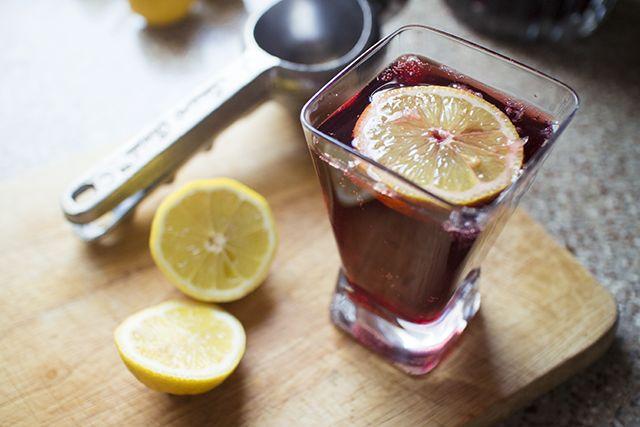 Receta: Tinto de verano - Recipe wine spritzer from Spain