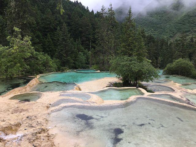 Dragone Giallo, Parco Nazionale di Huanglong http://www.informazioninelweb.com/2017/02/il-dragone-giallo-huanglong.html