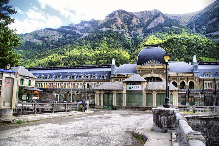 Estación Internacional de Canfranc, Camino Aragonés