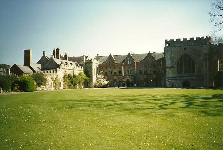 Bishop's Palace, Wells, Somerset - inspiration for Patrick Kearney's house