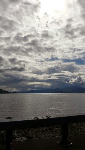 Himlen är lika dramatisk som resten av den storslagna naturen