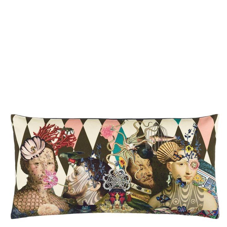 Le Curieux Argile Cushion | Christian Lacroix
