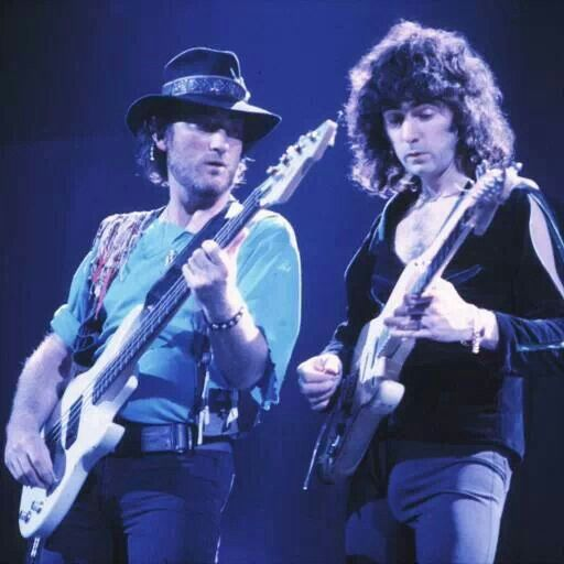 Roger Glover & Ritchie Blackmore..,love Roger!! Ritchie is very talented but an arrogant prima Donna