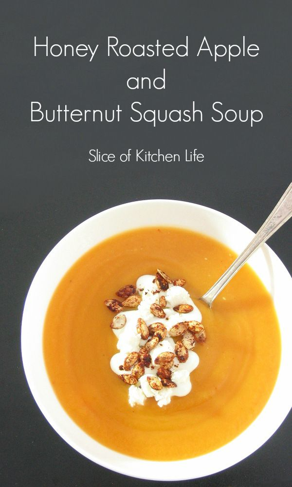 Roasted Apple and Butternut Squash Soup - A creamy and comforting soup ...