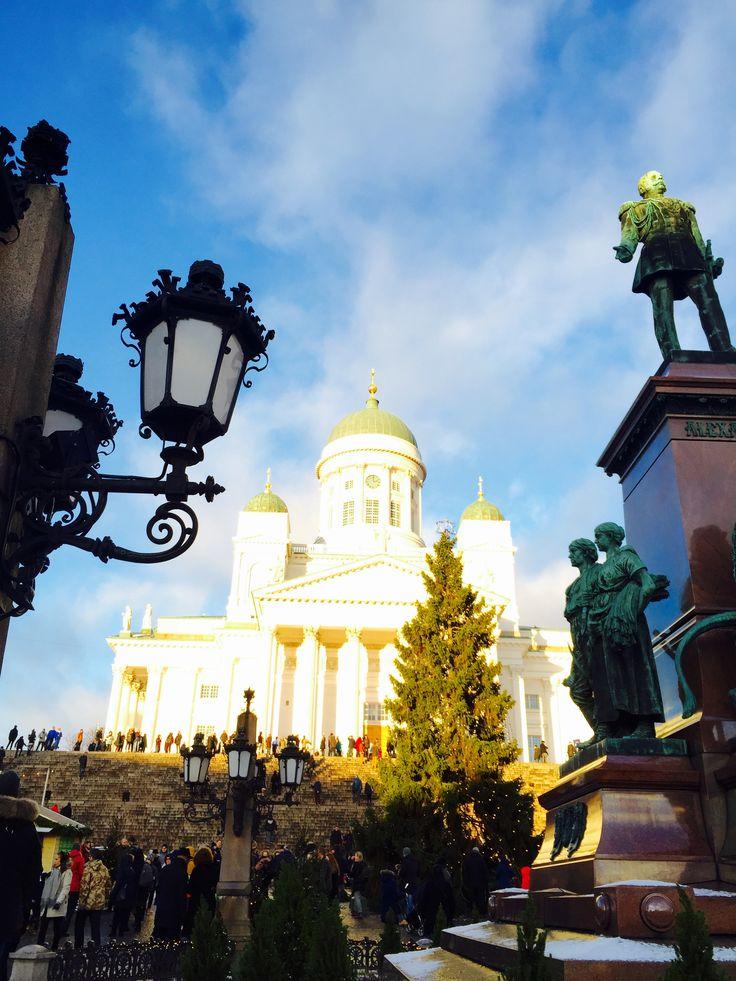 Senate Square, 6th of December, Finland 100 y, Helsinki