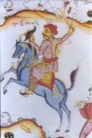 L'Empire gupta est sous l'autorité du souverain, qui prétend à la domination universelle au nom des dieux et est assisté d'un premier ministre, qui dirigeait l'administration. L'empereur est théoriquement issu de la caste des kshatriya (guerriers) et s'appuie sur la caste des brahmanes (prêtres) pour légitimer son pouvoir. L'Empire est en fait peu centralisé, organisé en cercles (« mandalas ») depuis la capitale :