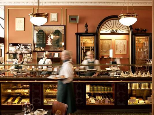 Conditori La Glace, oldest cake shop & tea room in Copenhagen.