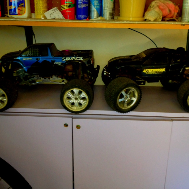 New hobby, gas powered rc trucks So amazing