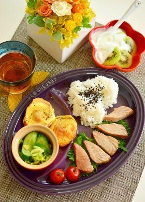 4.3.3でダイエット!ヘルシー☆おにぎり定食 レシピ・作り方 by まめも ... 4.3.3でダイエット!ヘルシーまぐろ定食