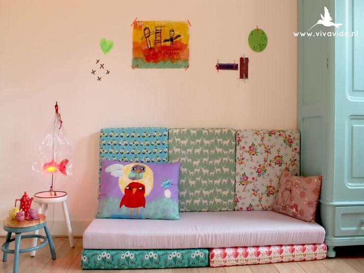 family retreat  VIVA VIDA  design and realization of children's bedroom   interior design , styling