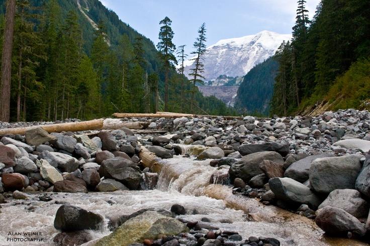 Hiking the Wonderland Trail on Mt. Rainier.: Le Wonderland, Wonderland Trail