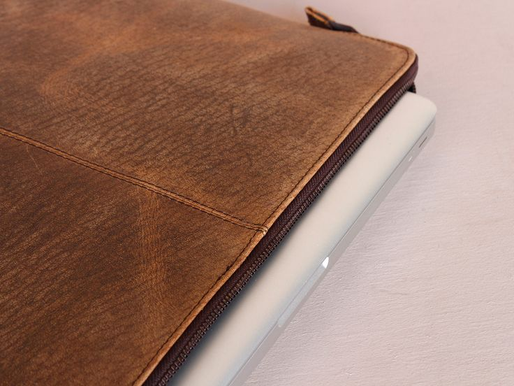 Leather Portfolio Case 15 Inch