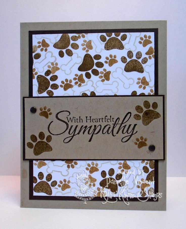 D's Crafty Connection: Kraftin' Kimmie Challenges #340 - Create a Stamped Background