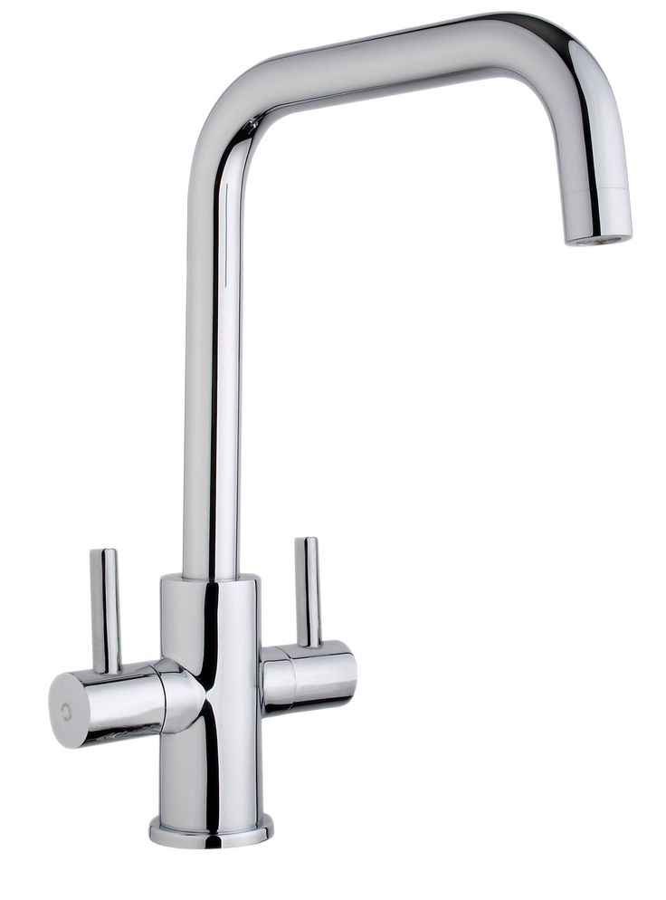 Cooke & Lewis Esna Chrome Effect Monobloc Tap | Departments | DIY at B&Q