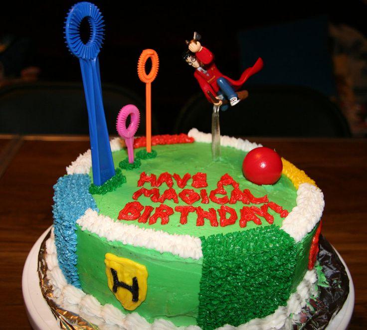 Harry Potter Birthday Party Cake