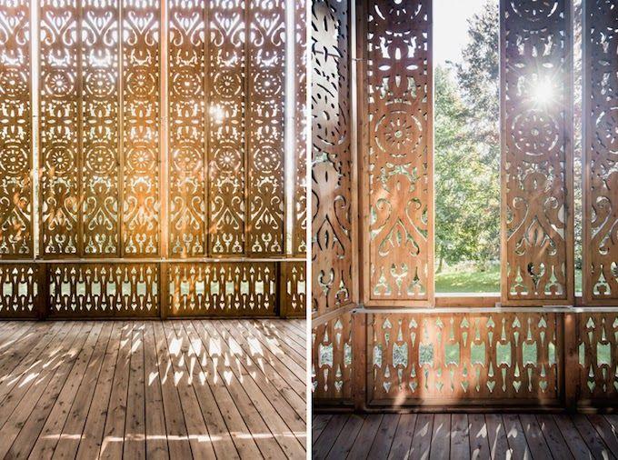 Artistic Odyssey: Beautiful Intricate Designed House