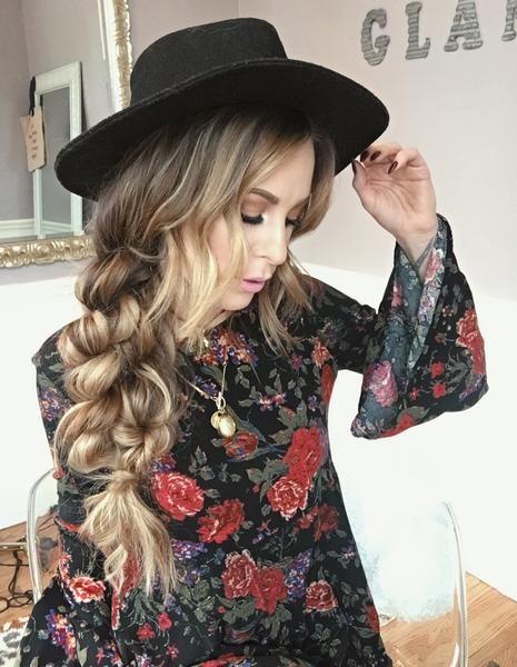 Boho Hairstyles: Boho Twist Braid   Luxy Hair