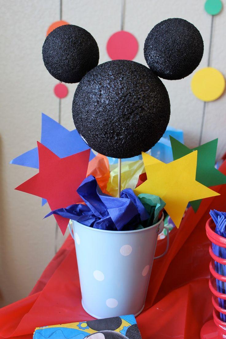 Dicas pra Mamãe: Tema da festa: Mickey Mouse
