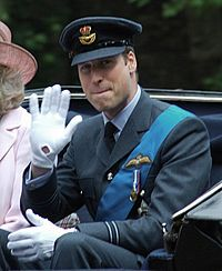 HRH Prince William, Earl of Strathearn (pictured in 2011)