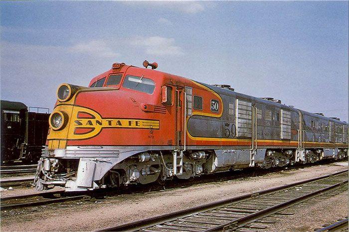 Santa Fe Alco DL109 Diesel Locomotive.
