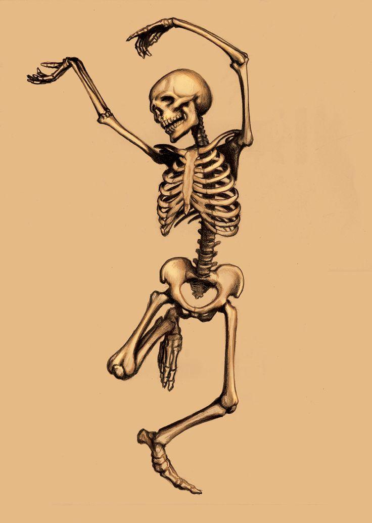 стал смешные картинки с скелетами неустанное