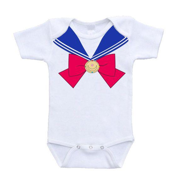 sailor moon bébé costume marchandise par urbanskiesboutique sur Etsy
