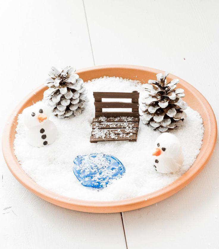 25+ beste ideeën over Winterdeko basteln op Pinterest - Natal - winter deko wohnzimmer