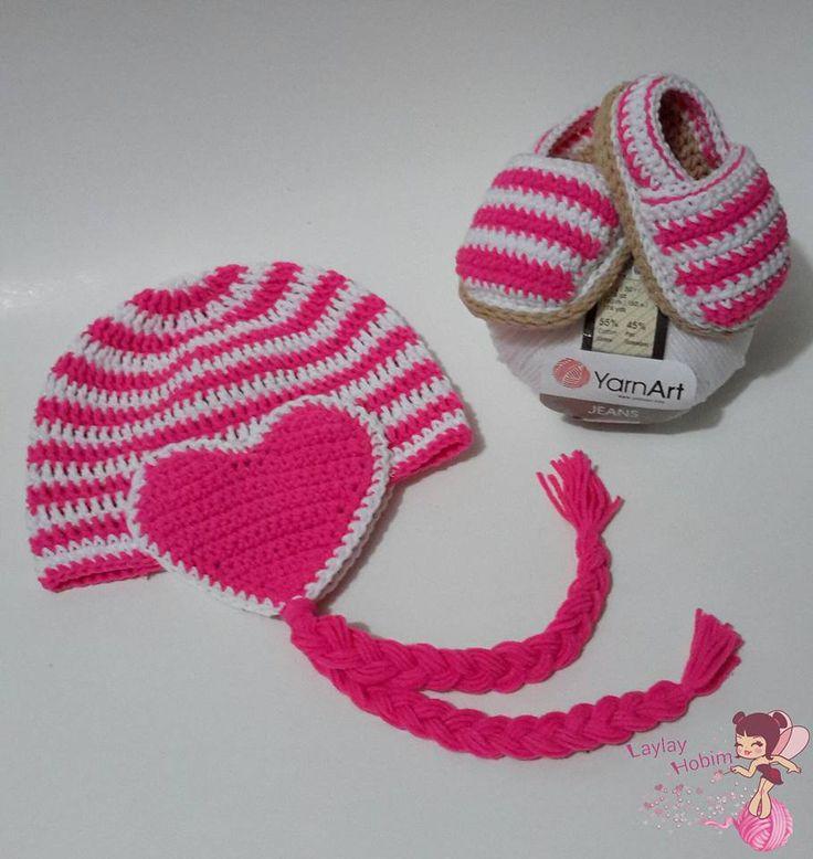 Kalpli Bebek Beresi ve Patik Modeli