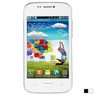 MINI S4 i9500 - 4 pollici touch screen del telefono cellulare Androud 4.1 (WIFI, 1GHz, doppia fotocamera, dual SIM) – EUR € 63.52
