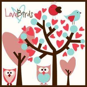 Love Birds Brushes