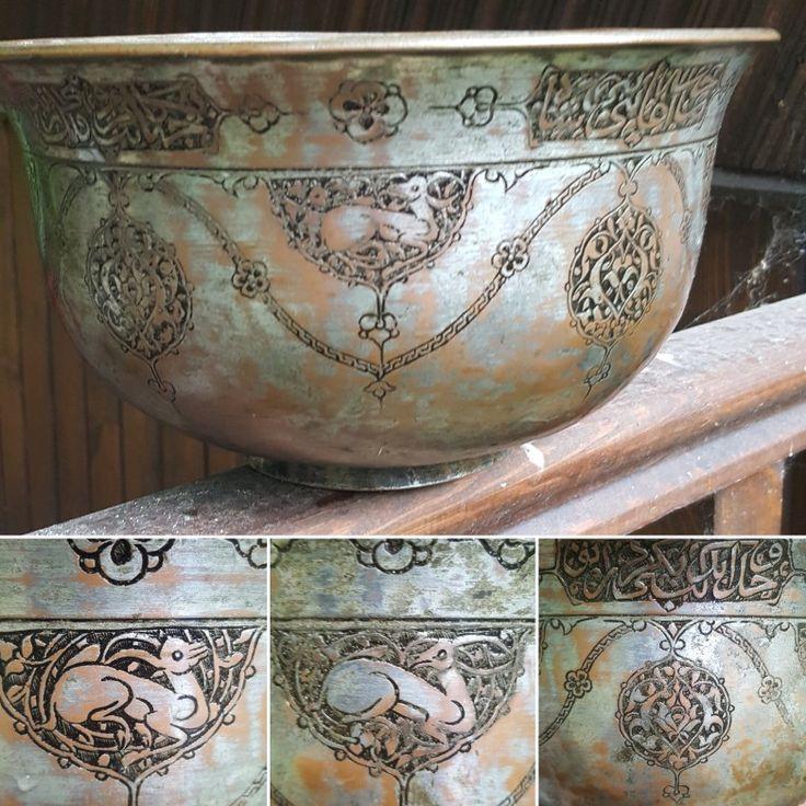 Safavid bowl. Persia 17th