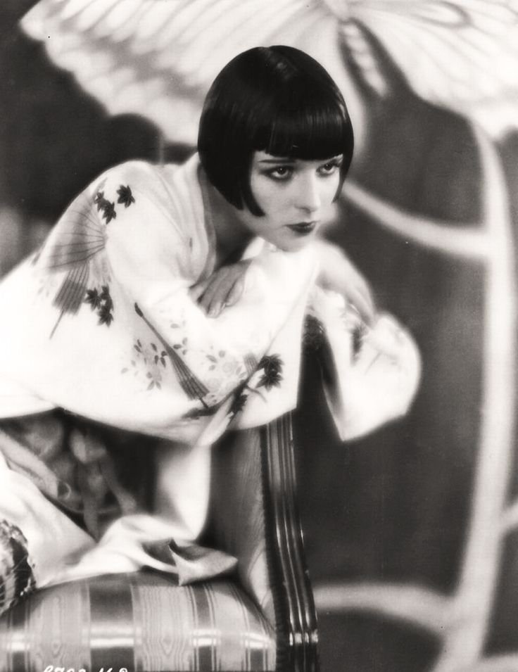 Louise Brooks, famous silent film star