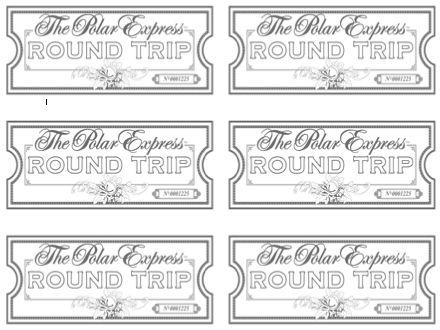 Sherbert Cafe: Blank Polar Express Ticket This woman has great Polar Express ticket printables