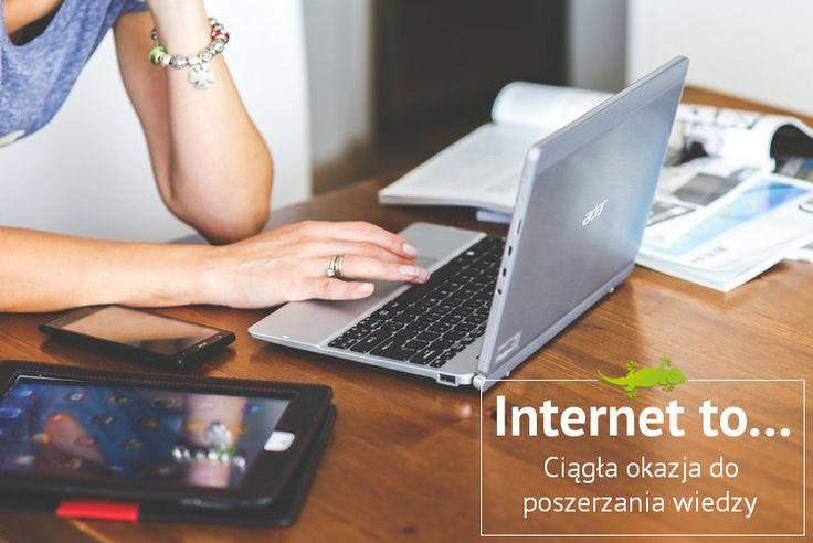 Internet to... ciągła okazja do poszerzania wiedzy.   #wiedza #Internet