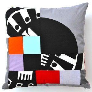 Boogaloo Pillow 18x18 by JaffWorks