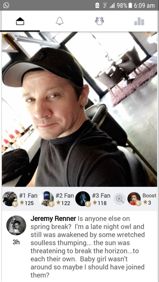 17 Best images about Favorite Guys : Jeremy Renner on ...