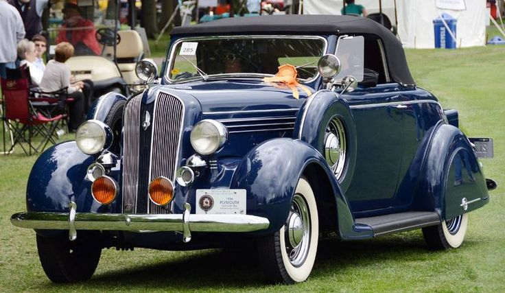 1936 Plymouth Deluxe convertable...with extras, sharp....