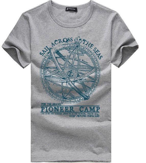 Pioneer Camp Men T Shirt New 2017 Cotton Simple Print: 25+ Best Ideas About Men Shorts On Pinterest