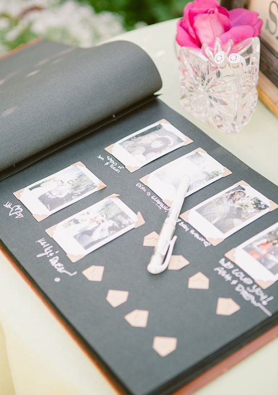 20 unique guest book ideas