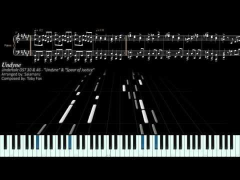 Undertale OST - Undyne & Spear of Justice (Piano Arrangement)