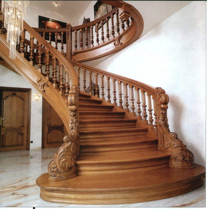 32 mejores im genes de en pinterest escaleras - Escaleras de madera modernas ...