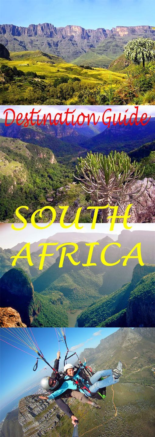 Everything you need to know about visiting South Africa: http://bbqboy.net/south-africa-guide-and-travel-tips/ #southafrica #destinationguide