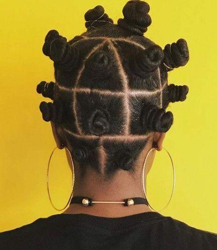 39 Super Ideas hair curly natural bantu knots