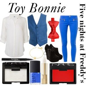 Five nights at Freddy's inspired outfits #7 Toy Bonnie