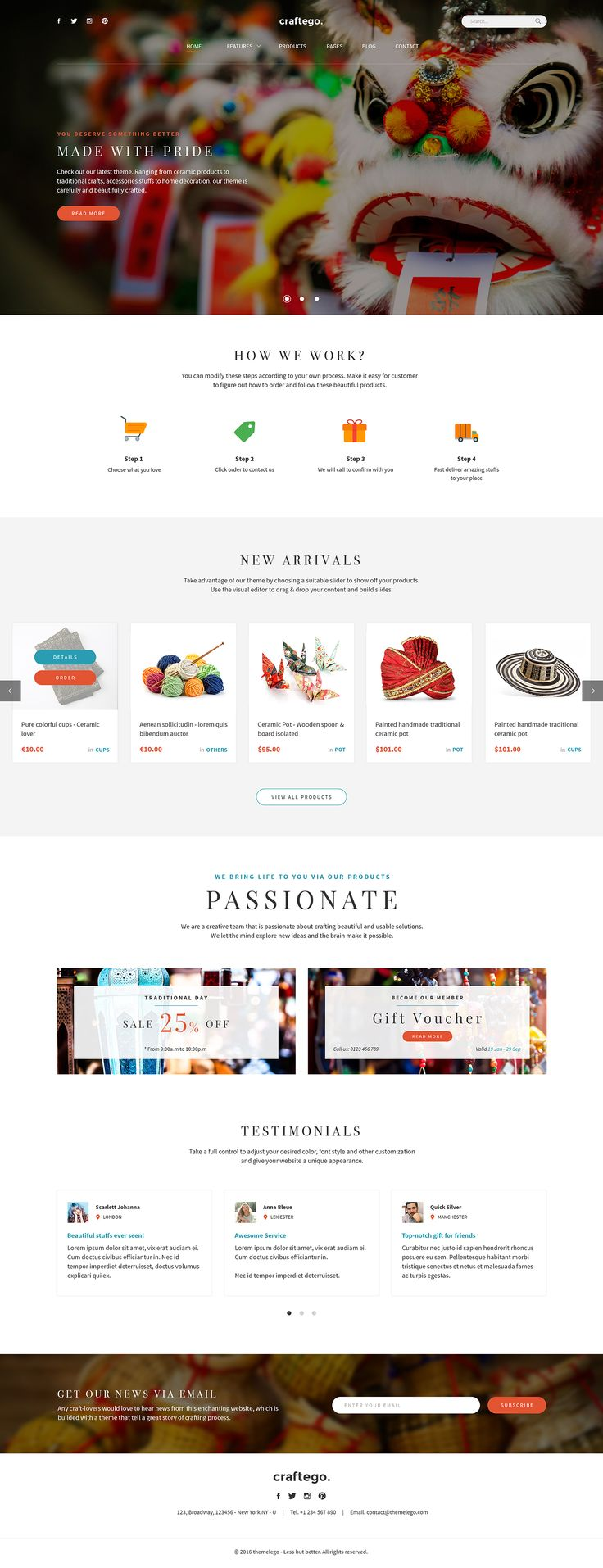 7 best newsletter templates themes images on pinterest email templates newsletter templates. Black Bedroom Furniture Sets. Home Design Ideas