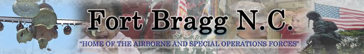 Fort Bragg, North Carolina...we don't live on post but currently stationed there.