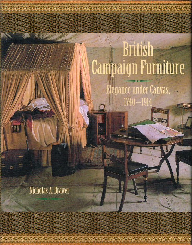 Wonderful British Campaign Furniture